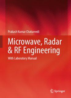 Microwave, Radar & RF Engineering