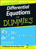Differential Equations For Dummies® - Softouch Information Services