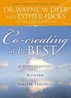 Co-creating at its best : a conversation between master teachers