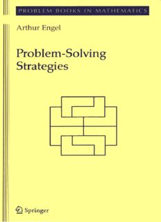 Problem Solving strategies for Math Olympiads