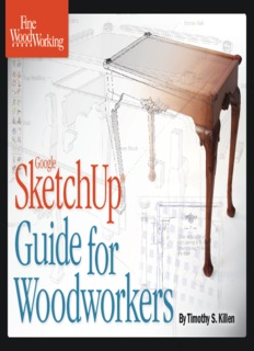 Fine Woodworking   Google SketchUp for Woodworkers - File PDF