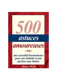 500 Astuces Amoureuses™ PDF, Livre par Michael Webb √Télécharger √Programme Avis ...