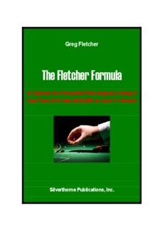 The Fletcher Formula - Gamblers' Bookcase