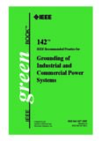 IEEE  142-2007 : IEEE Recommended Practice for Grounding of Industrial and Commercial Power Systems