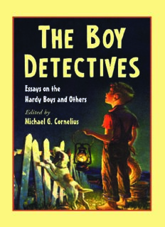 Boy Detectives: Essays on the Hardy Boys and Others