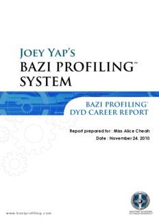 Joey Yap's BAZI PROFILING™ SYSTEM - Mastery Academy
