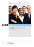 Level 2 Book-keeping and Accounts - Home - LCCI International