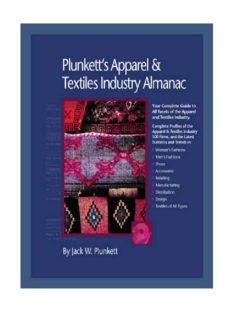 Plunkett's Apparel & Textiles Industry Almanac 2010: Apparel & Textiles Industry Market Research, Statistics, Trends & Leading Companies