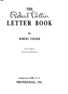The Robert Collier Letter Book - s3.amazonaws.com