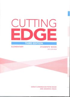 Cutting edge - Elementary - Student's book