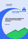 LEEDTM Energy Performance Modeling and Evaluation of the S.T