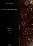 The solitude of Henry David Thoreau