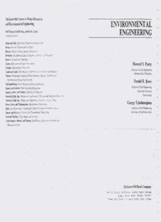 Environmental Engineering BY PEAVY,ROWE