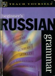 Teach Yourself Beginner's Russian Grammar