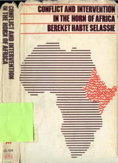 Conflict and Intervention in the Horn of Africa