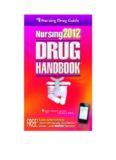 Nursing2012 Drug Handbook, 32nd Edition (Nursing Drug Handbook)