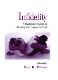 Infidelity: A Practitioner's Guide to Working with Couples in Crisis (Family Therapy and Counseling)
