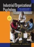 Industrial/Organizational Psychology