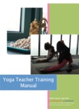 Yoga Teacher Training Manual - Drishti Vinyasa Yoga Shala