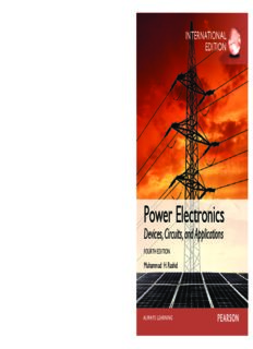Power electronics : devices, circuits, and applications