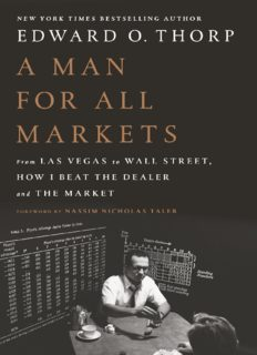 A Man For All Markets From Las Vegas To Wall Street