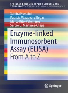 Enzyme-linked Immunosorbent Assay (ELISA): From A to Z