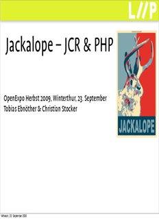 Jackalope – JCR & PHP