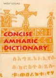 Concise Amharic Dictionary
