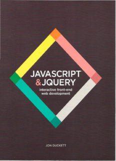 JavaScript & jQuery  Interactive Front-End Development