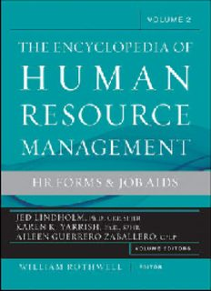 Encyclopedia of Human Resource Management, Human Resources and Employment Forms, Vol. 2