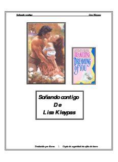 Lisa Kleypas – Soñando contigo