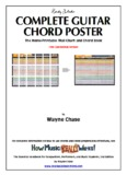 Download Complete Guitar Chord Poster, Free Edition - How Music