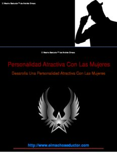 El Macho Seductor™ PDF, Libro por Andrés Orraca