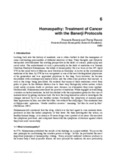 Homeopathy: Treatment of Cancer with the Banerji Protocols
