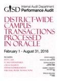 sements • Purchase Order Transactions • Petty Cash • P-Card Expenditur ansactions • Petty Cash ...