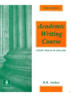Academic Writing Course Study Skills in English