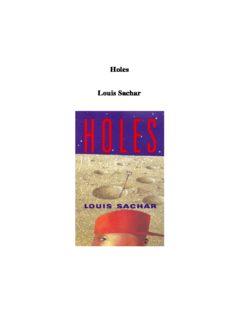 Holes Louis Sachar