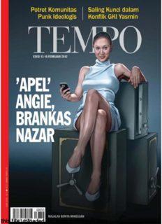 Majalah Tempo - 13 Pebruari 2012: Apel Angie, Brankas Nazar