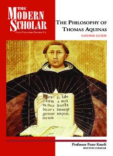 Peter Kreeft-The philosophy of Thomas Aquinas-Recorded Books