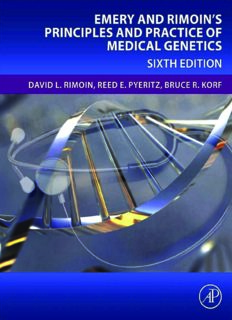 Emery & Rimoin's Principles and Practice of Medical Genetics