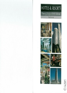 Page 1 HOTELS & RESORTS Planning, Design and Refurbishment FRED LAWSON Page 2 ...