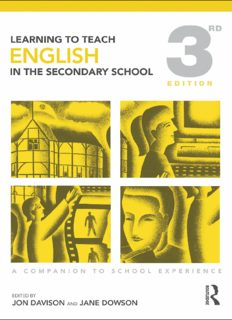 Learning to Teach English in the Secondary School: A Companion to School Experience, 3rd Edition (Learning to Teach Subjects in the Secondary School Series)