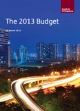 The 2013 Budget - Smith & Williamson