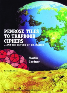 Penrose tiles to trapdoor ciphers: --and the return of Dr. Matrix