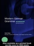 Modern German Grammar Workbook - Readers StuffZ