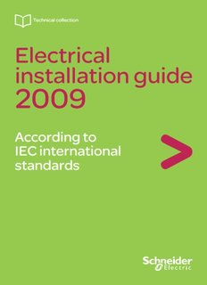 General rules of electrical installation design - Schneider Electric