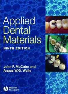 Applied Dental Materials - Myanmar Dental Association
