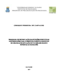 Chrissie Carvalho 2017 - Tese de Doutorado