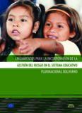Estado Plurinacional de Bolivia Ministerio de Educación Yaticha Kamani Yachay Kamachiq