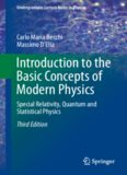 Introduction to the Basic Concepts of Modern Physics: Special Relativity, Quantum and Statistical